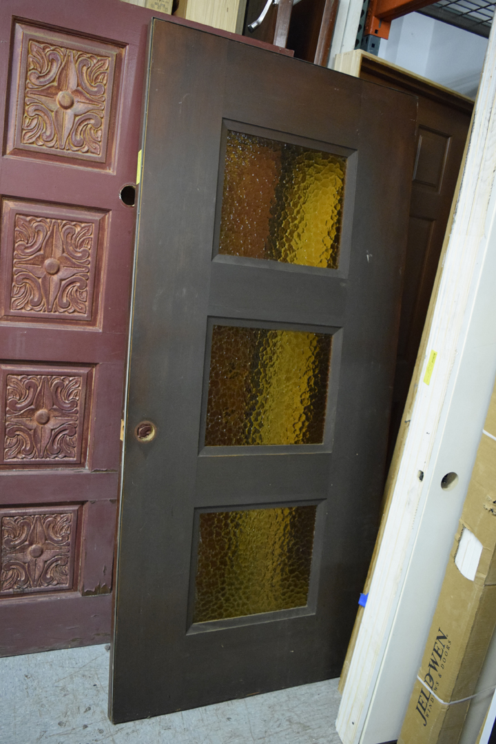 We also have some terrific vertical grain doors with and without holes for doorhandles. These are priced at $79.99 at the Portland ReStore. & Doors with character! | Portland Metro and Clark County ReStores
